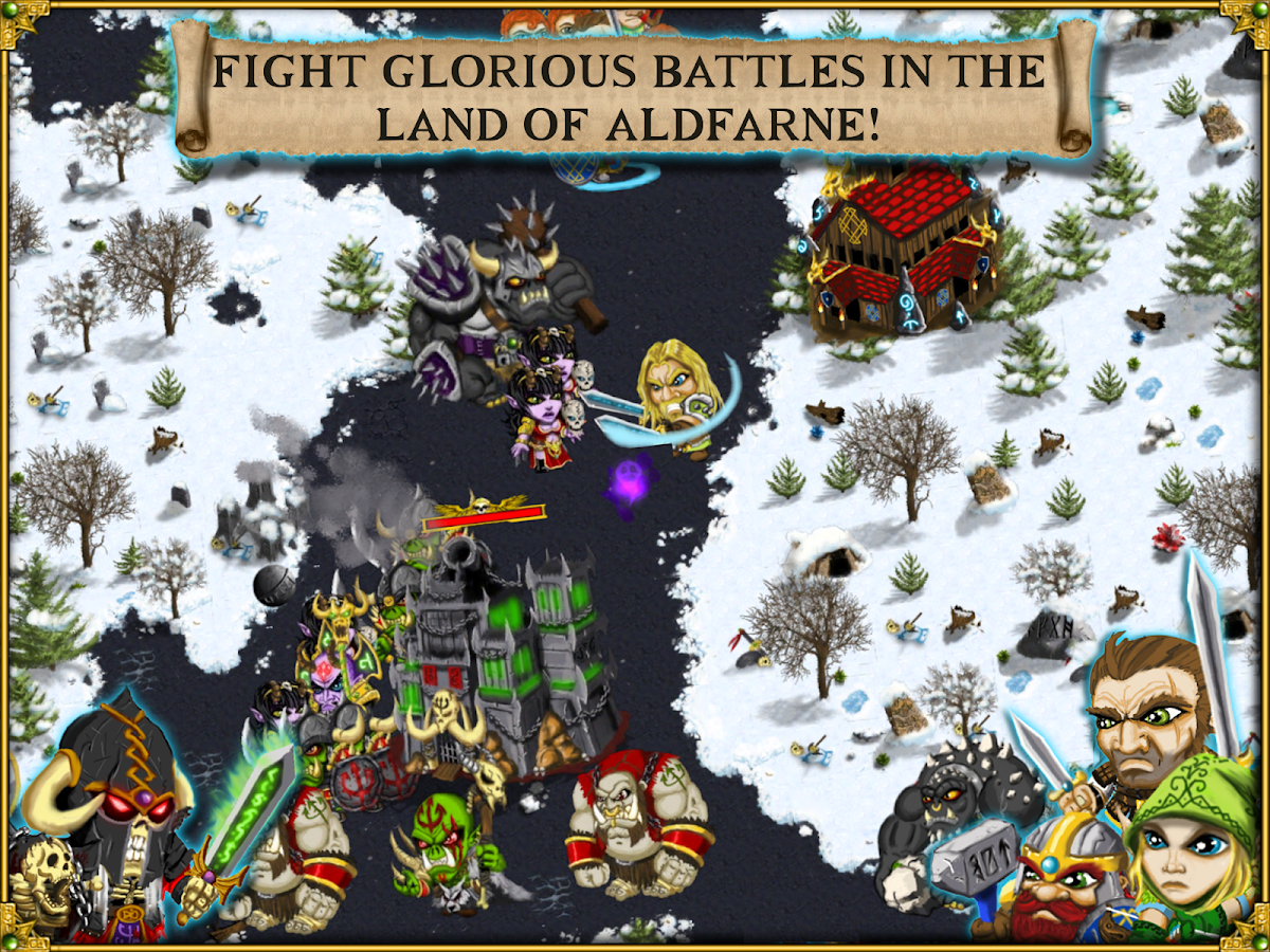 Warlords RTS: Strategy Game- screenshot