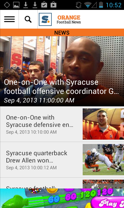 syracuse.com: SU Football News - screenshot