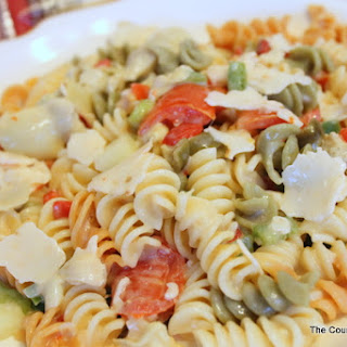 Pepper Jack Pasta Salad.