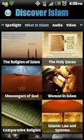 Screenshot of Discover Islam