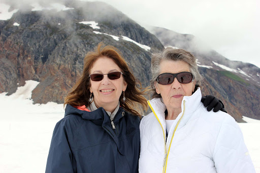 Colleen-and-mom - Me and Mom near the end of our Alaska cruise getaway.