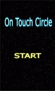 On Touch Circle- screenshot