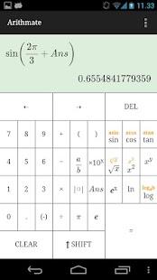 Arithmate Pro Calculator- screenshot thumbnail