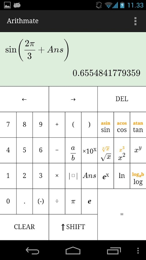 Arithmate Pro Calculator- screenshot