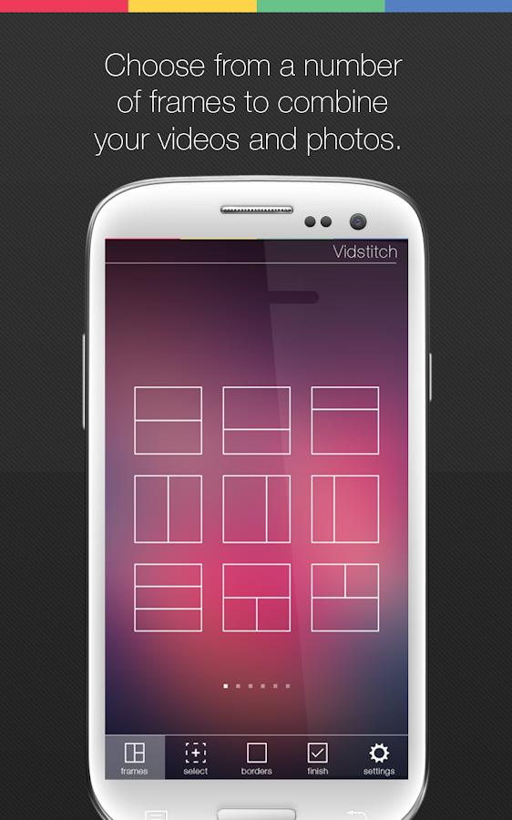 Vidstitch Free - Video Collage - screenshot
