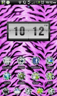 THEME - Zebra Diamonds - screenshot thumbnail