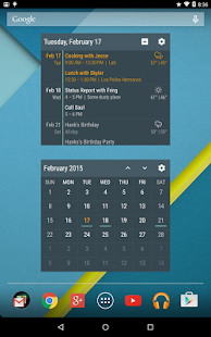 Event Flow Calendar Widget - screenshot thumbnail