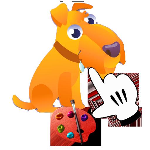 手指著色動物易 休閒 App LOGO-硬是要APP