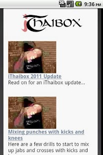 iThaibox Free Muay Thai / MMA - screenshot thumbnail