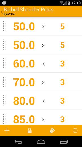 【免費健康App】Dumbbell - Gym Log-APP點子