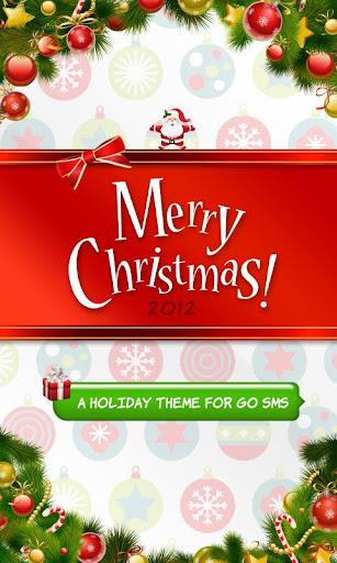 Merry Christmas Pro SMS Theme