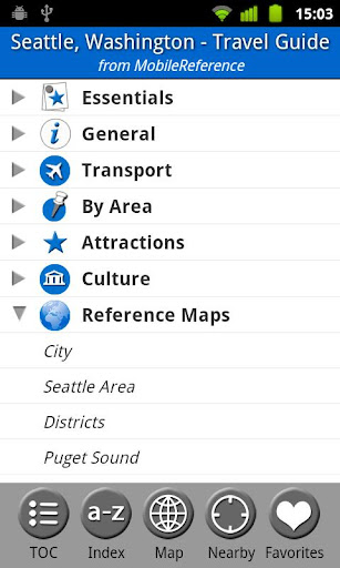 Seattle - Travel Guide Map