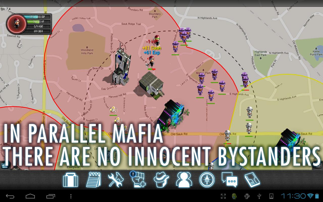 Parallel Mafia MMORPG - screenshot