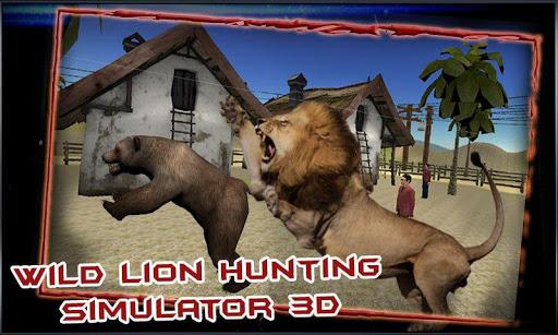 Wild Lion Hunting Simulator 3D