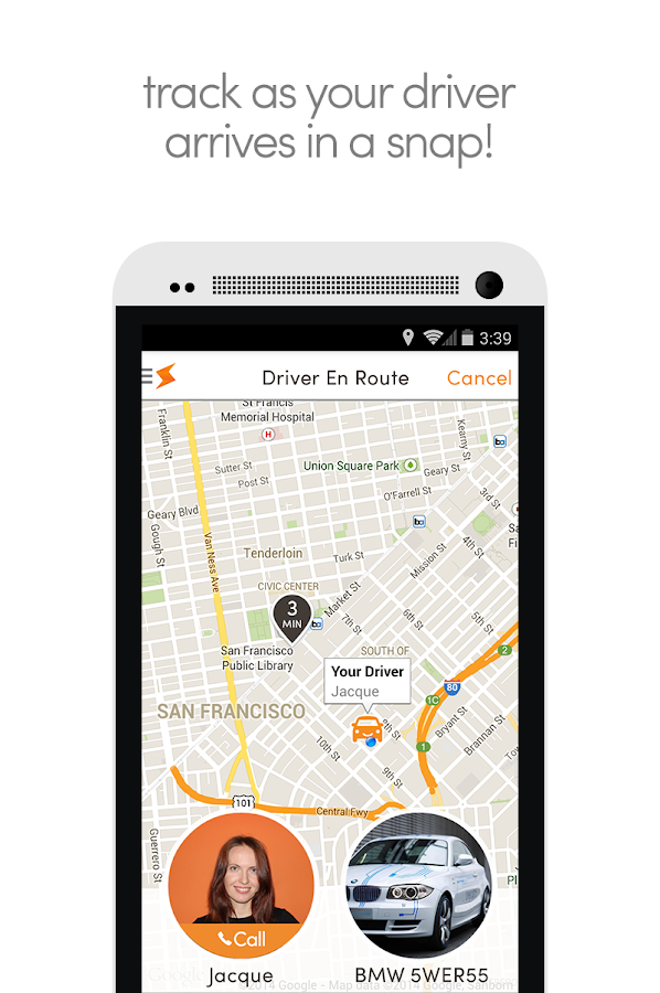 Summon InstantCab - Car & Taxi - screenshot