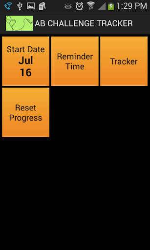 30-Day Ab Challenge Tracker