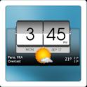 3D Flip Clock & World Weather icon