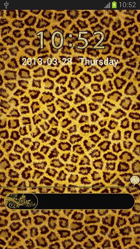 Theme Leopard for GO Locker