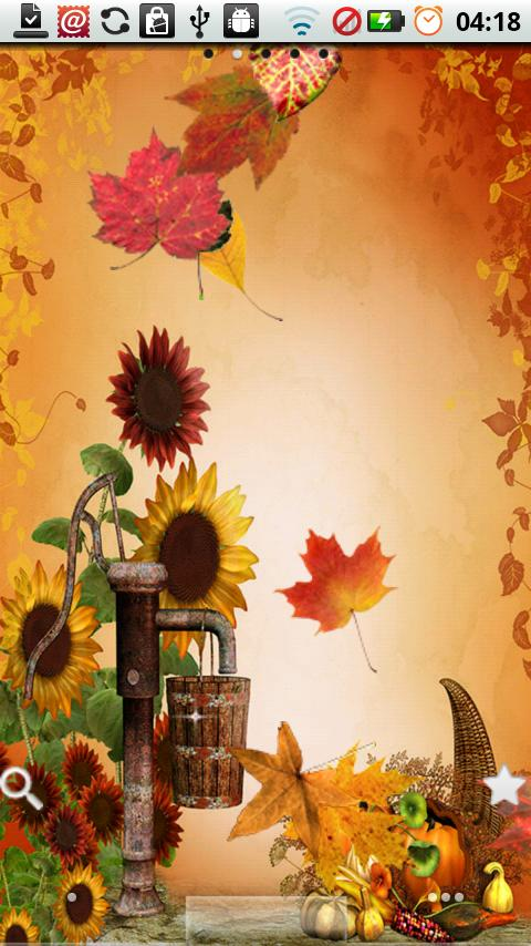Fall Leaves for Thanksgiving screenshot #1