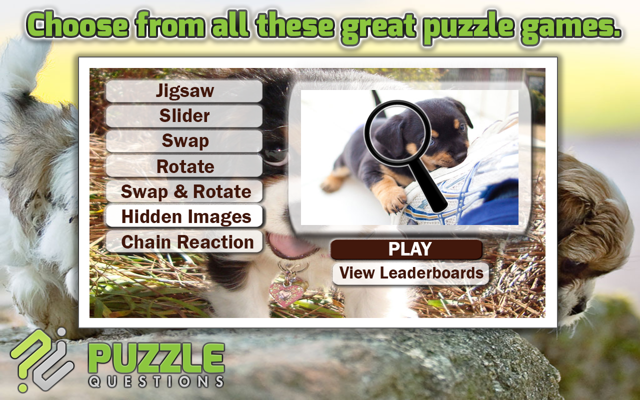 free cute puppy puzzle games android apps on google play