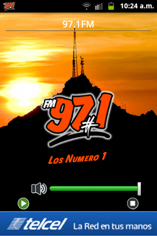 97.1 FM Radio La Numero Uno- screenshot