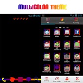Go Launcher Colorful Theme