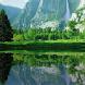 Mountain Waterfall Lake HD LWP
