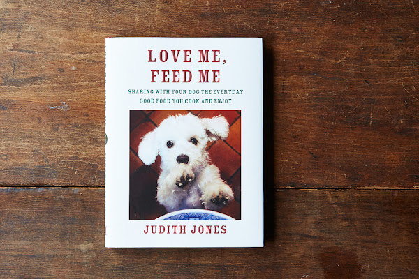 Love Me, Feed Me presents recipes for canine-loving cooks.
