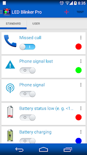 LED Blinker Notifications Screenshot