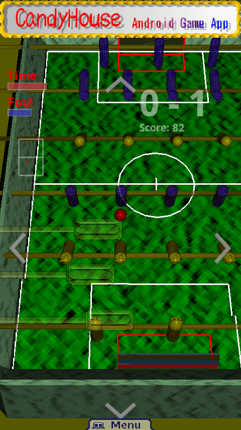 NinjaSoccer_FREE- screenshot