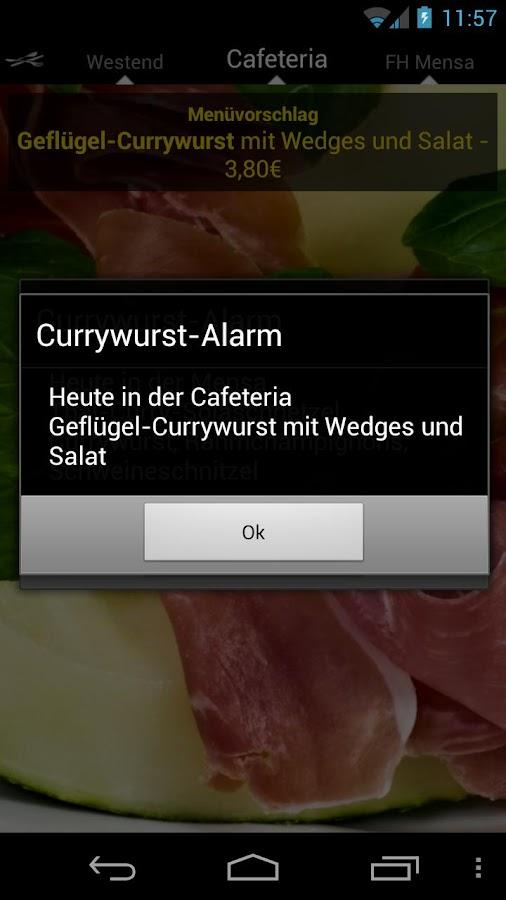 Mensa Bielefeld - screenshot