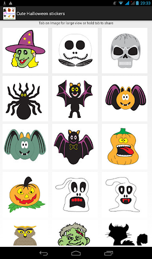Cute Halloween Stickers