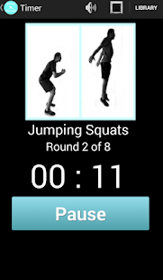 HIIT Workouts and Tabata Timer- screenshot thumbnail
