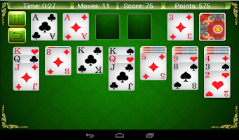 Screenshot of Solitaire 4 in 1