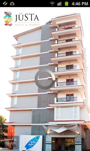 Justa panjim goa app app for Design hotel by justa