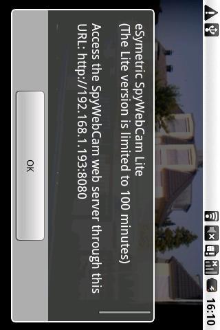 eSymetric SpyWebCam Standard- screenshot