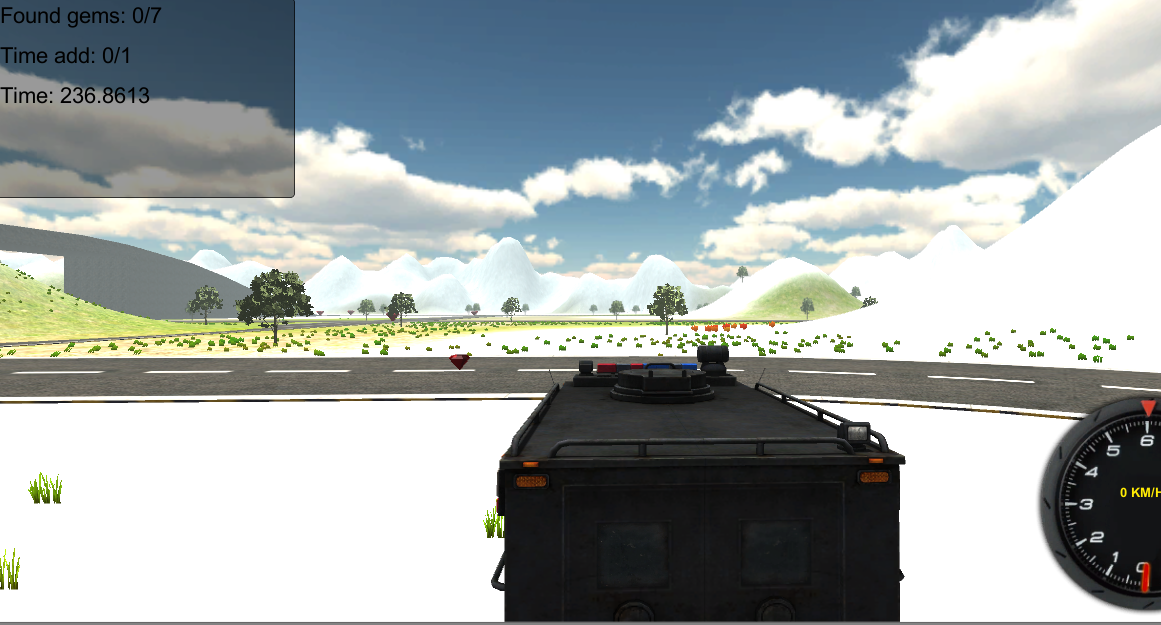 Police Trucker Simulator 2014 - screenshot