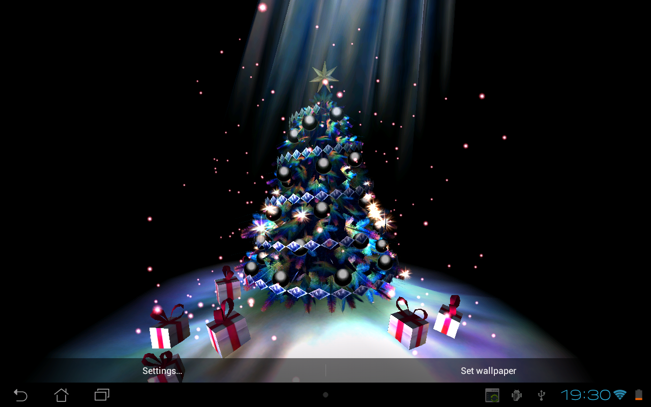 Christmas Tree 3D - screenshot