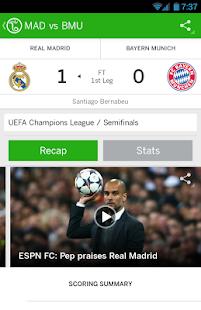 ESPN FC Soccer Screenshot 17