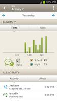 Screenshot of Sprint Mobile Controls