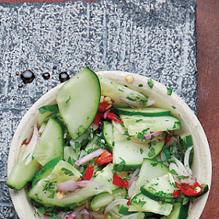 Ajad (Thai Cucumber Relish).
