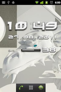 White Dragon Clock Widget App v2.16