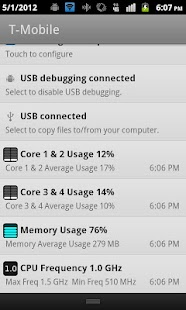 CPU Usage Monitor - screenshot thumbnail