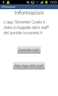 i Sinonimi Gratis- screenshot thumbnail
