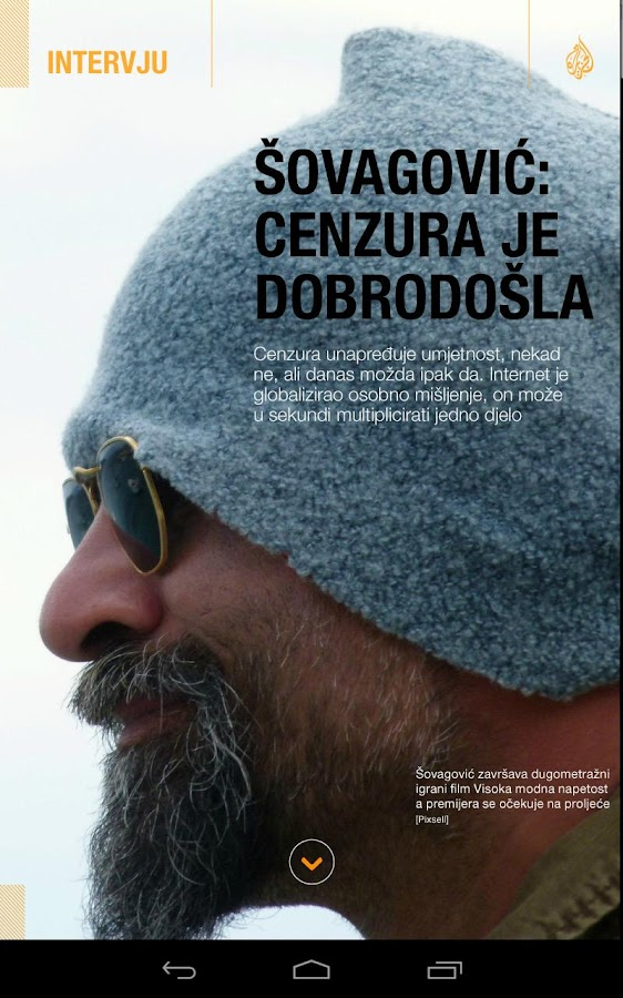 Al Jazeera Balkans Magazine- screenshot