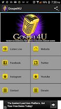 Gospel 4 U Radio screenshot thumbnail