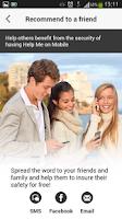Screenshot of Help Me on Mobile