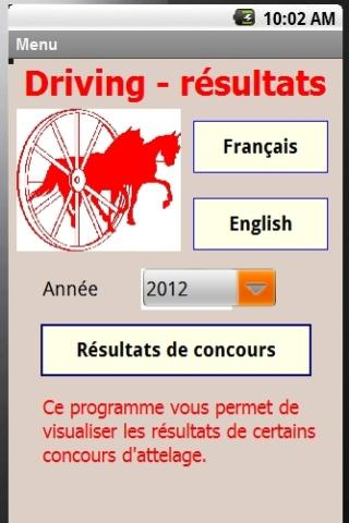 Driving Results 2014