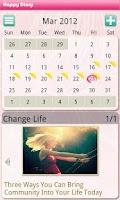 Screenshot of Happy Diary (Free)
