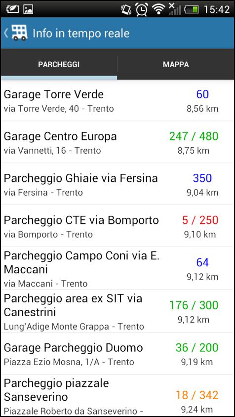 Viaggia Trento - screenshot